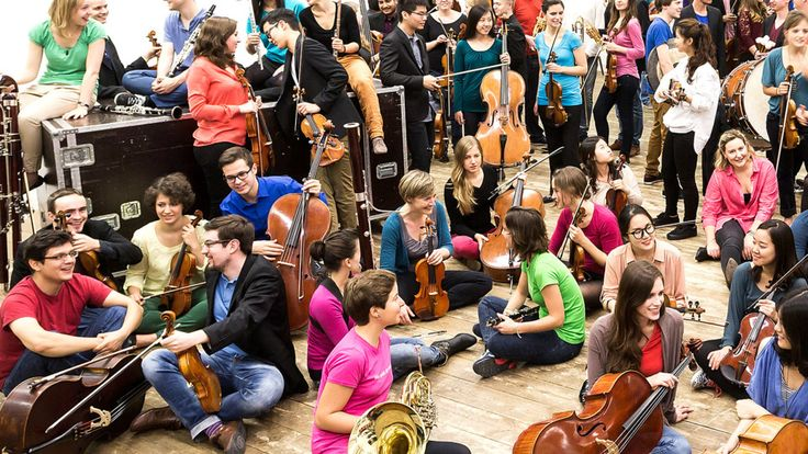 Kostenlos: die Junge Deutsche Philharmonie spielt Bruckner