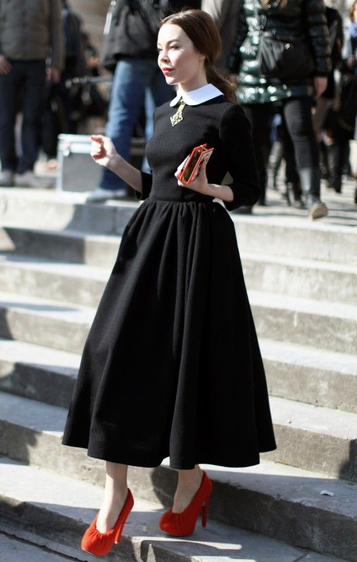 Natasha Bailie Vintage Clothing Company Blog: Style Crush : Ulyana Sergeenko