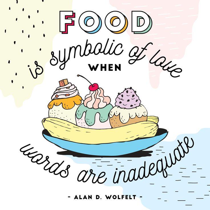 Food is...