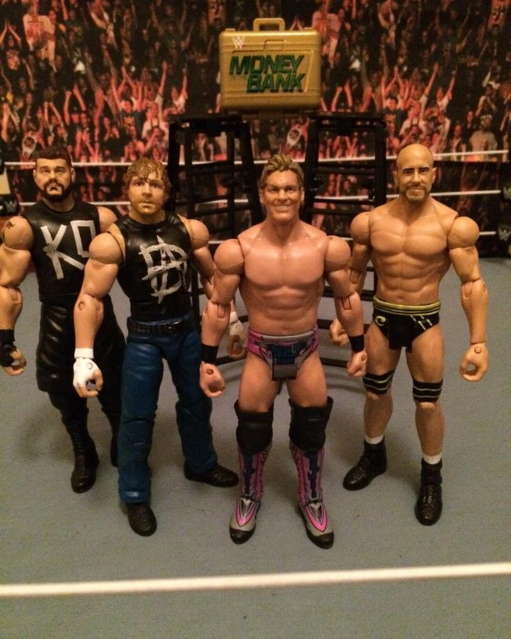 Money in the Bank so far! Minus Sami Zayn #wwe #wweppv #wwenetwork #wrestling#wwewrestling #wwewrestlingfigures #wrestlingfigures #wwemattel #wwefigures #wwetoys #toystagram #wweuniverse #actionfigures #wweelite #mattel #actionfigure #raw #nxt #smackdown #wweraw #wwf #worldwrestlingentertainment #mitb by edfyoutube