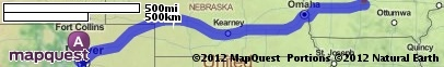 Driving Directions from Westminster, Colorado to Des Moines, Iowa | MapQuest