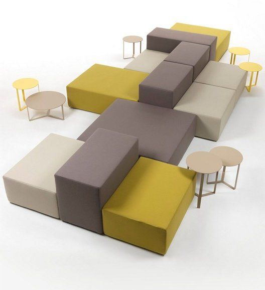 Sectional modular #sofa LOUNGE by Giulio Marelli Italia | #design M Studio