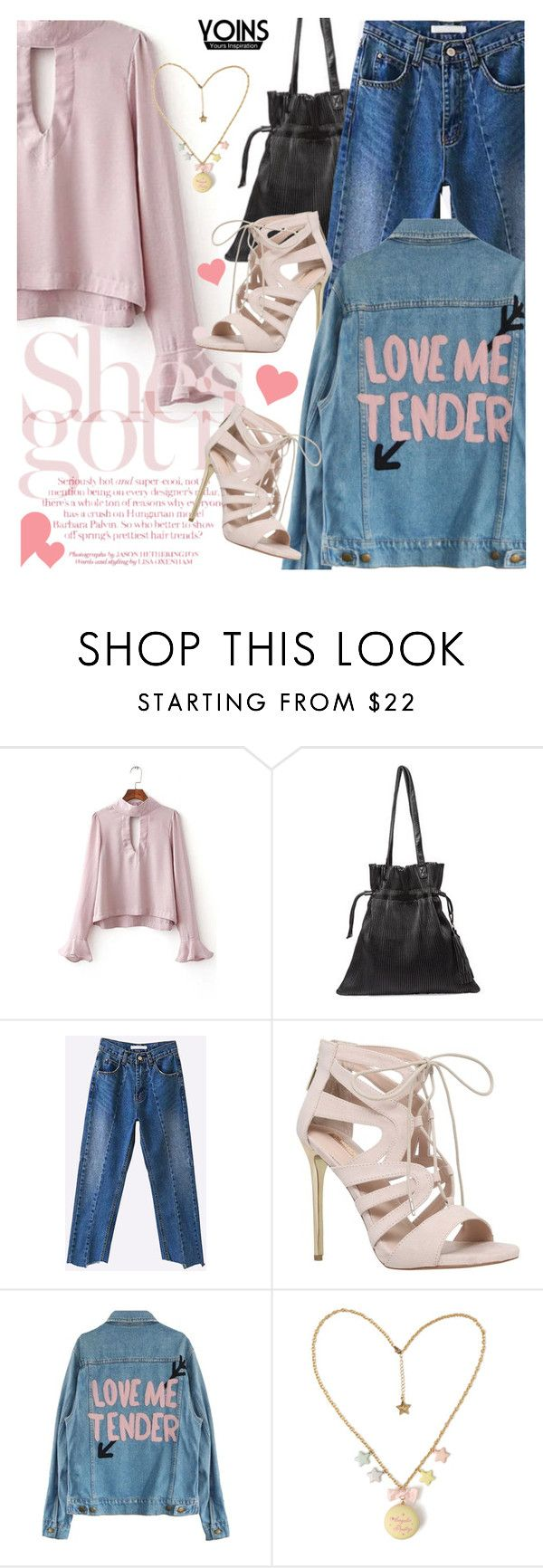 """""""Yoins 24: love me tender"""" by bugatti-veyron ❤ liked on Polyvore featuring Carvela, yoins, yoinscollection and loveyoins"""
