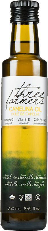 Three Farmers Camelina Oil - Canadian goodness! #CNEprogram