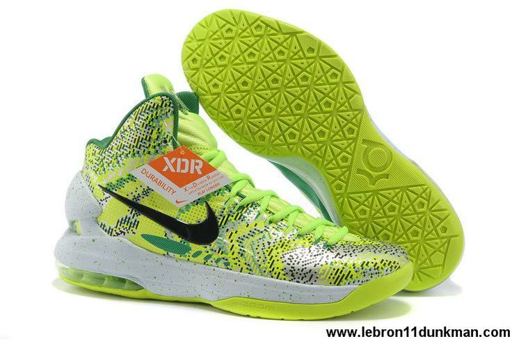 Buy New Nike Zoom KD 5 iD Offers New Graphic Pattern Green