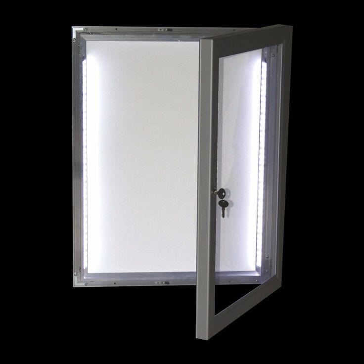 LED Aydınlatmalı İlan Dolabı http://ores.com.tr/v3/urunler/ilan-panolari/led-aydinlatmali-ilan-dolabi/