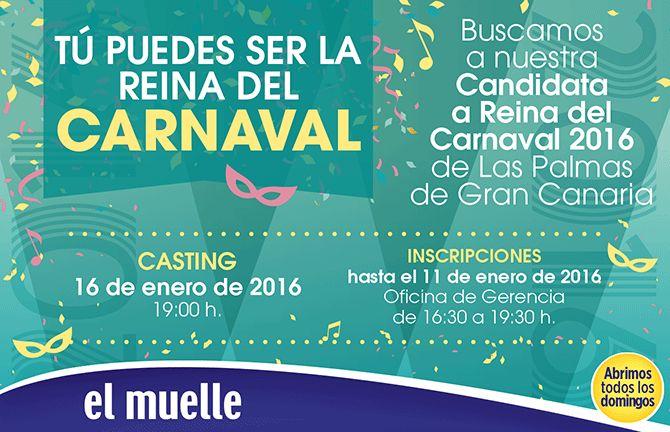 Grupo Mascarada Carnaval: ¡Tu puedes ser Reina del Carnaval de Las Palmas!
