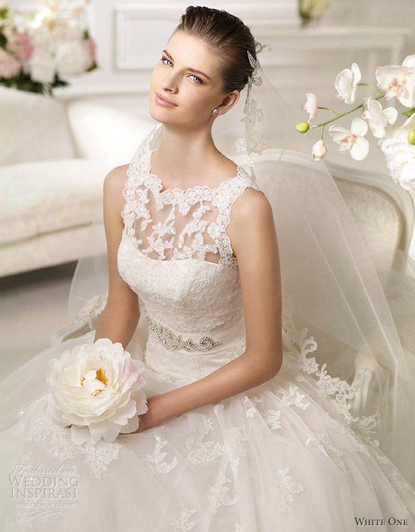 white one wedding dresses