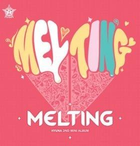 Sampul Album Terbaru HyunA 'Melting'