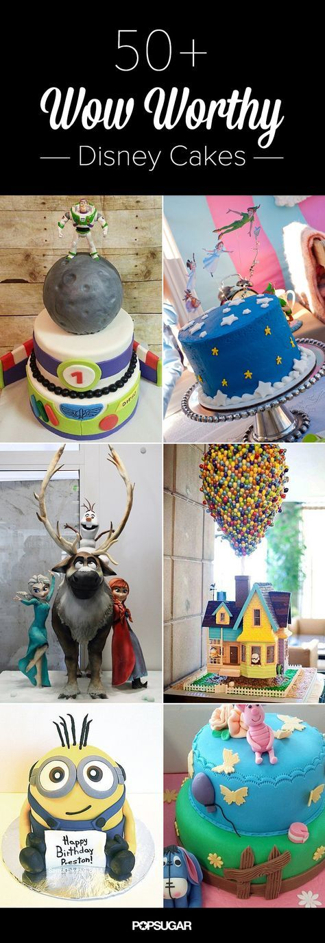 Make It a Magical Day With 50 Wow-Worthy Disney Cakes. We've dug up some amazing cakes for traditionalists (Minnie, Mickey, Tigger . . .) and trendsetters (think Frozen and Planes) alike. Which Disney character would your little ones most love to see alongside their birthday candles?