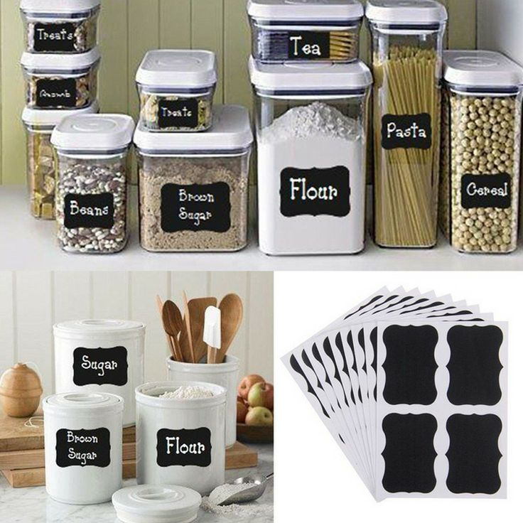 36 Lovely Kitchen Container Labels