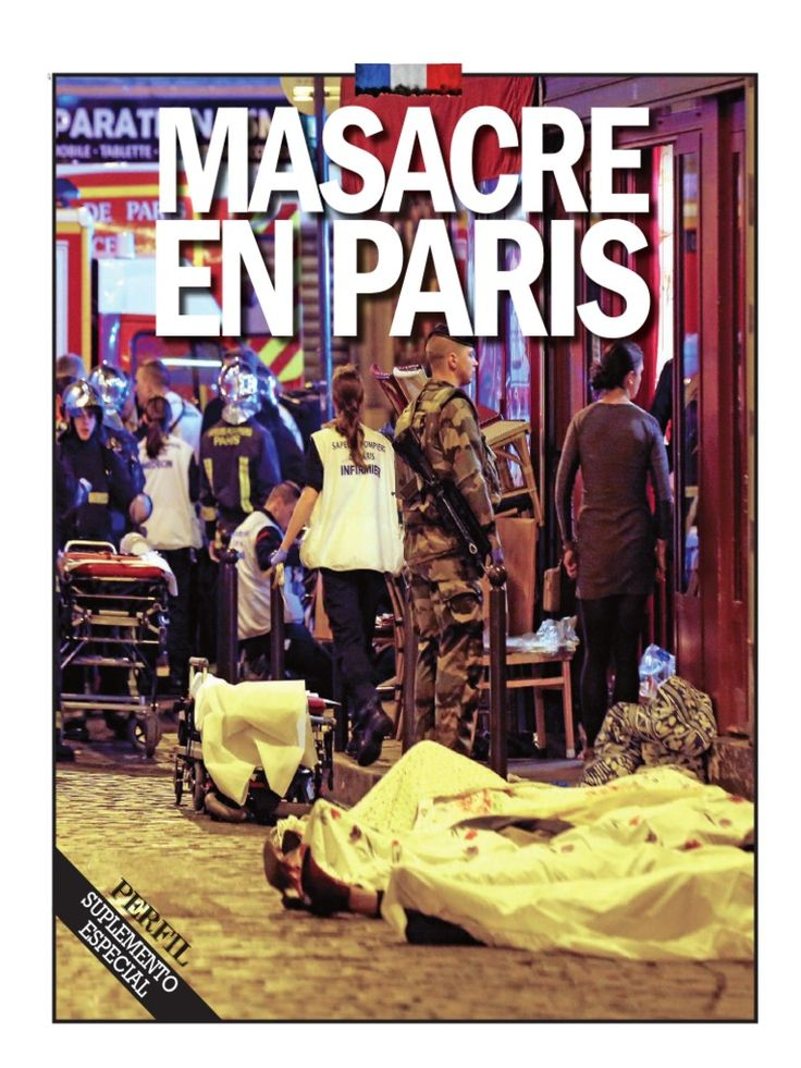 I'm reading Masacre en París on Scribd