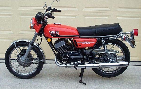 Yamaha RD 350.