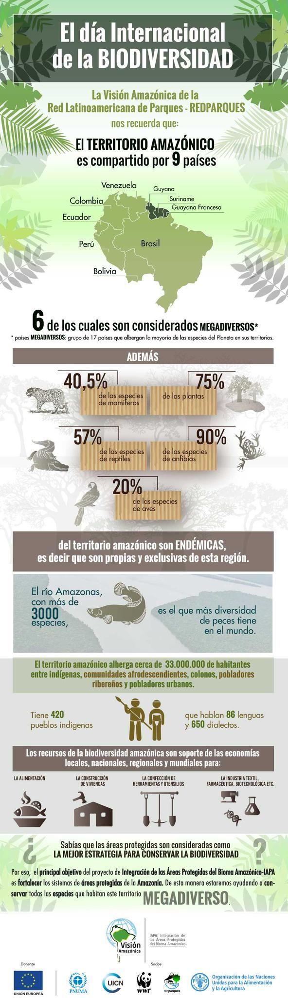 """En el #DíadelaDiversidadBiológica, """"Visión Amazónica"""" de la Red Latinoamericana de Parques-#RedParques nos recuerda:"""