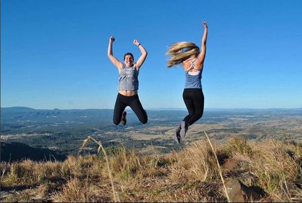 Jumping for a joy that Cully Fest in Toowoomba is fast approaching! Pic by @emmashleigh_ #SeeYouAtCullyFest