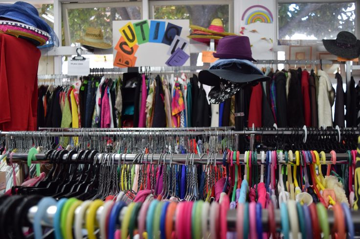 Check out our colourful shop in Aro Valley, Wellington! #Vinnies #thriftshop #vintage