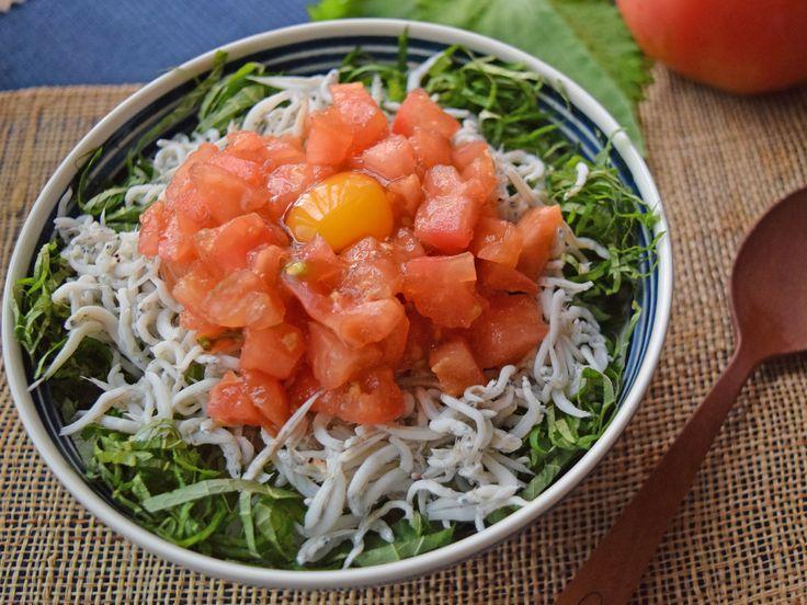 火を使わないレシピ トマトたっぷり夏の3色丼 - [毎日の野菜・フルーツレシピ] - All About
