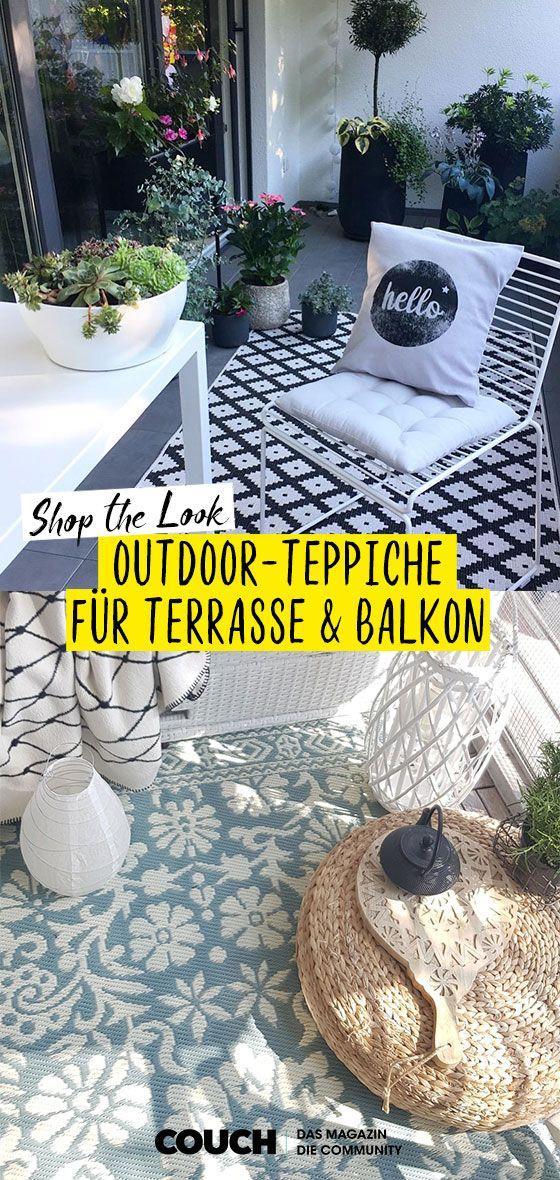 49+ Teppiche fuer balkon und terrasse 2021 ideen