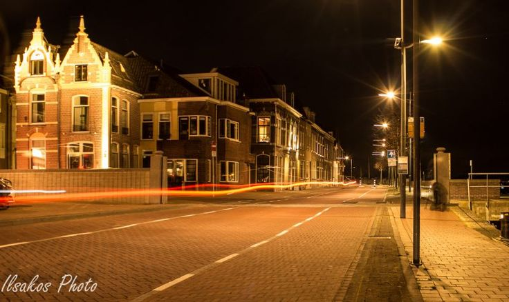 Kampen by night on the move by Ilse Cardoen