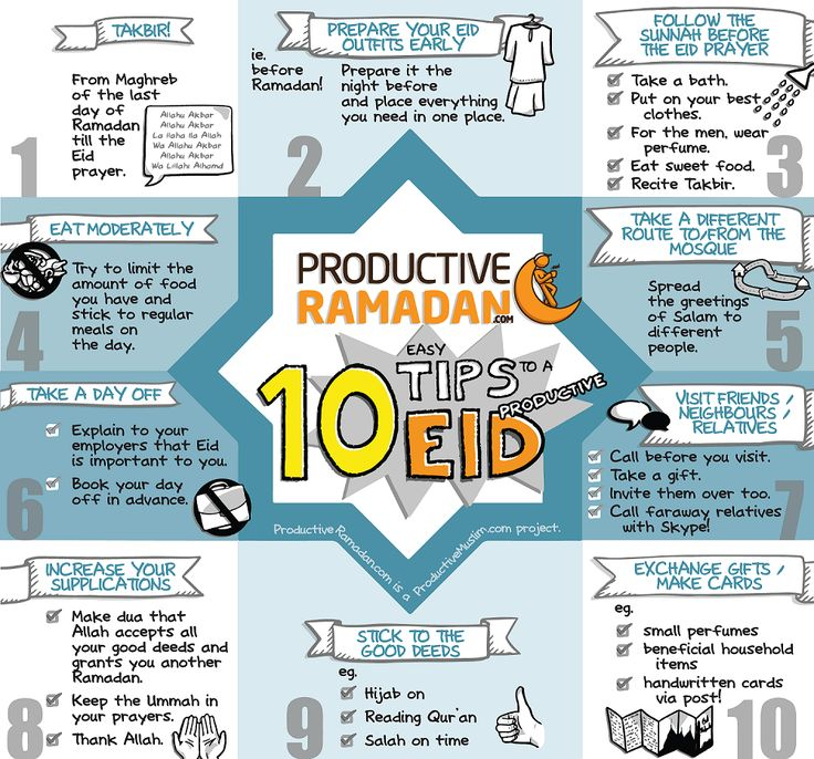 To read the article '10 Easy Tips to a Productive Eid!', visit: http://proms.ly/1rIBq6m