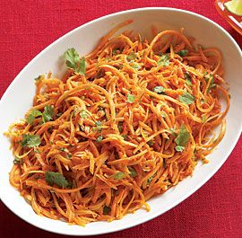 Shredded Carrot Salad with Jalapeño, Lime & Cilantro - Fine Cooking Recipes, Techniques and Tips