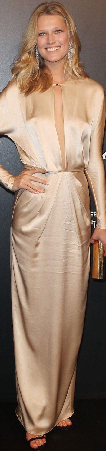 Toni Garrn Cannes Film Festival in Bluemarine