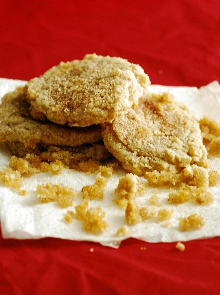 Low Carb Snickerdoodle Cookie Recipe - Healthy and dense snicker doodle cookies.