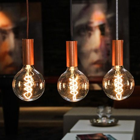 Copper Pendant Lamp by NUD Collection | MONOQI #bestofdesign