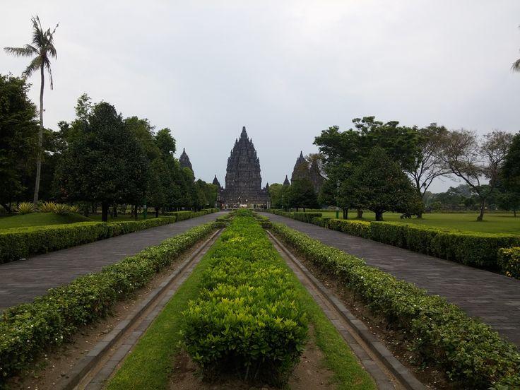 Aanloop naar Candi Prambanan