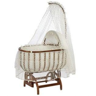Baby Tech 121 Saraylı Fantezi Ahşap Bebek Beşiği Ceviz #bebek #alışveriş #indirim #trendylodi  #anne #bebekbakım #beşik #sepet #hamak