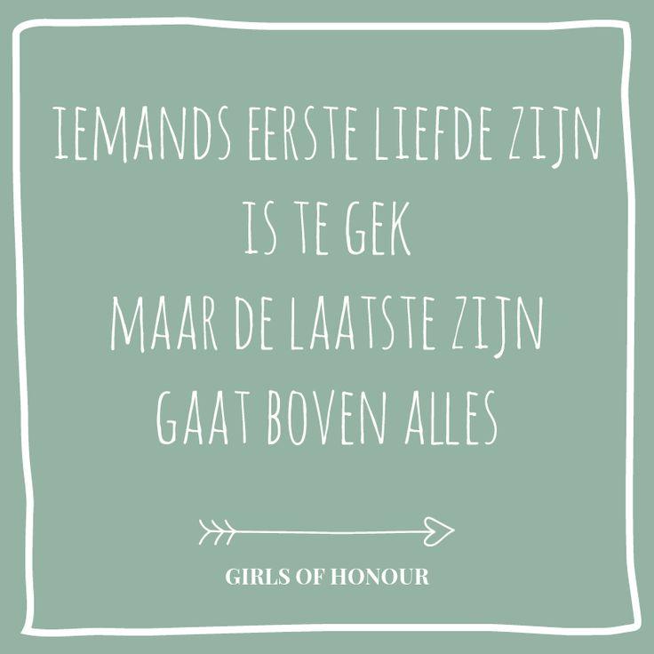 Wie het laatst lacht :) #huwelijk #trouwen #tegeltjeswijsheid #quote #liefde #liefdesquote #girlsofhonour