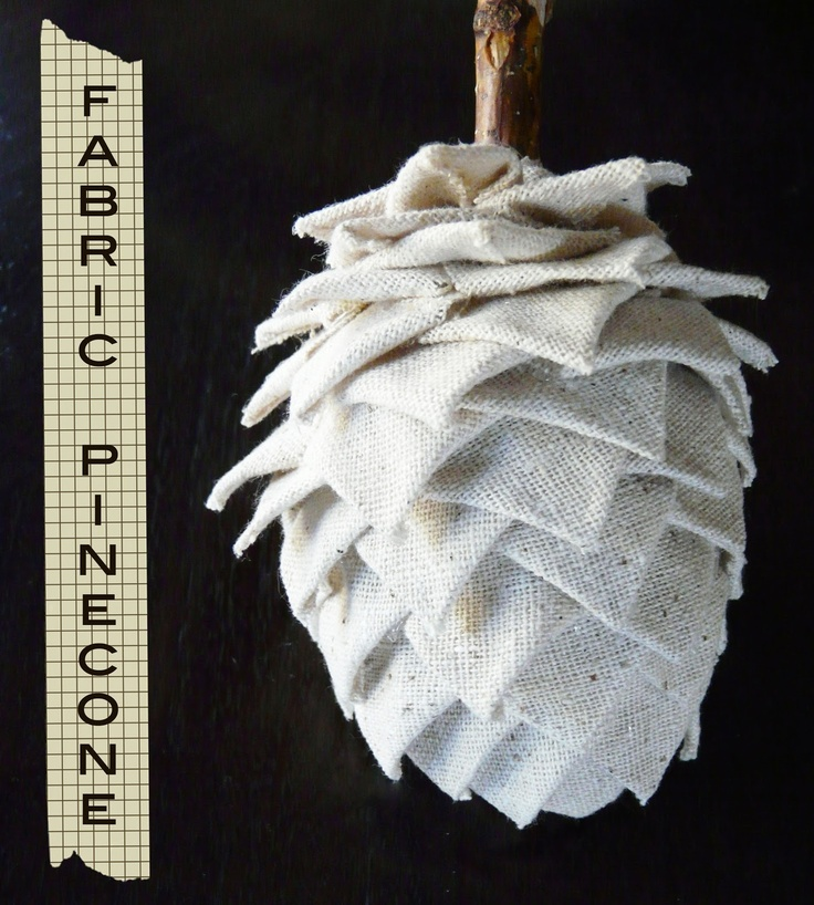 cover a plastic easter egg with muslin!  or burlap, or other fabric, or old paper, or music sheets, or . . . .