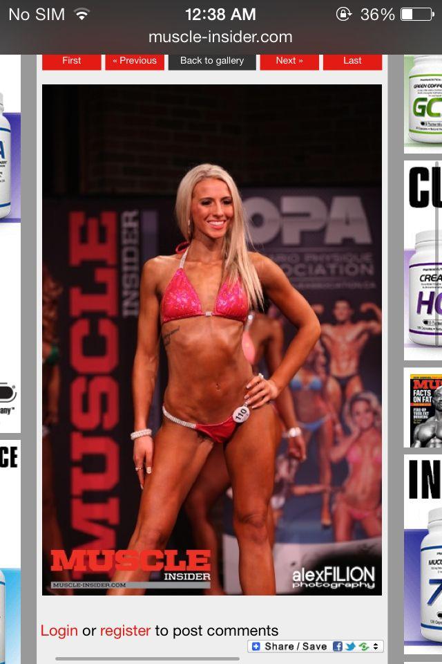 Sudbury OPA Classic Championships, Bikini. Heaven Furoy #110 took 5th