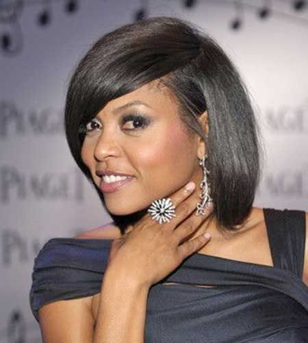 20 Short Bob Hairstyles for Black Women | http://www.short-haircut.com/20-short-bob-hairstyles-for-black-women.html