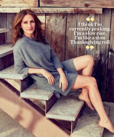 Julia Roberts in People US May 2017 issue