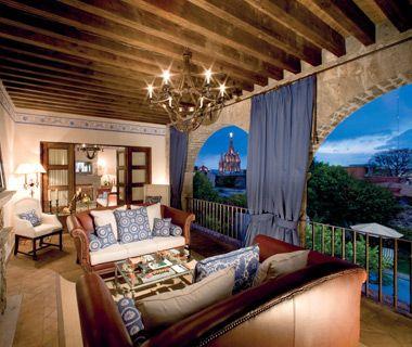 Best Hotels in Mexico: Casa de Sierra Nevada.