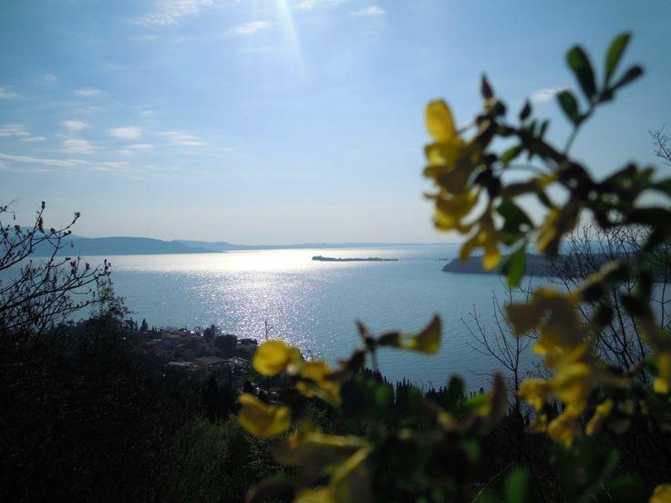 Il silenzio è la cosa che meglio si addice di fronte a questo spettacolo. Strada per frazione San Michele di Gardone Riviera [foto Giuliana Vignozzi] #LagoDiGarda #VisitLagoDiGarda #GardaLombardia #Lombardia #TurismoLombardia #VisitLombardia #LakeGarda #Gardasee #Gardameer