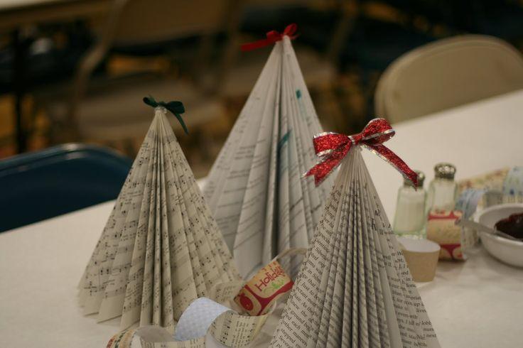 tad sab log: Ward Christmas Party Decorations More