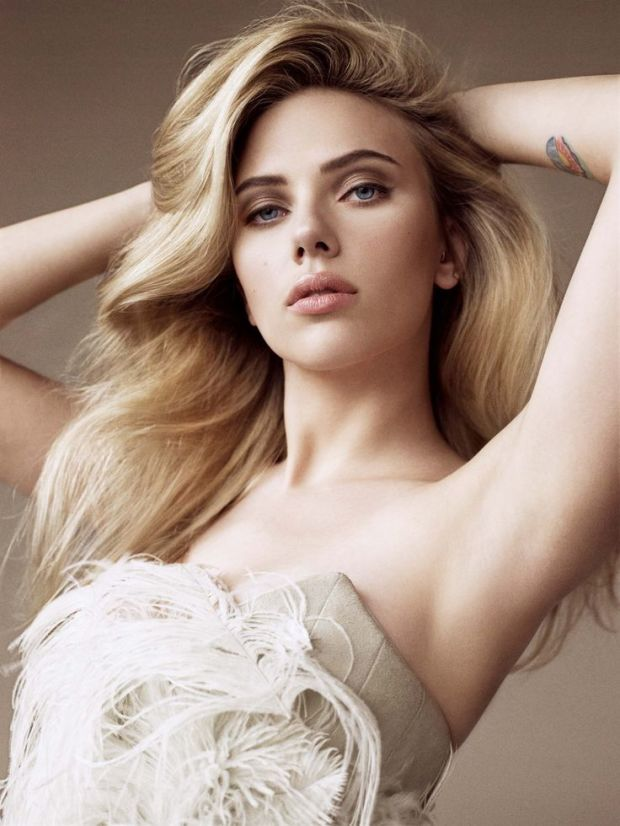 Scarlett Johansson in a 2009 issue of Allure.
