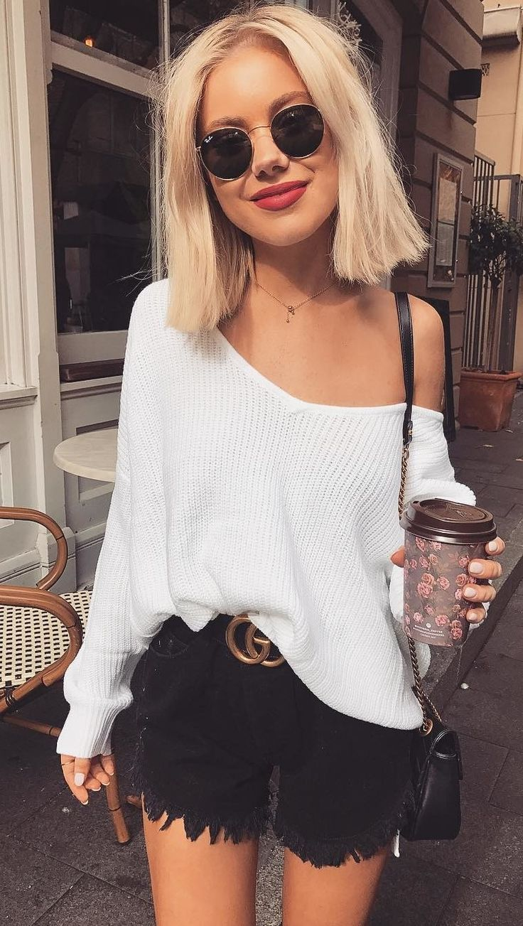 summer outfits  Love A Good Comfy Knit Wearing @runwayscout
