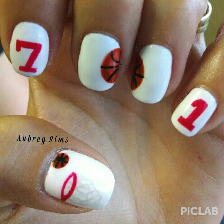 The 25 best basketball nails ideas on pinterest cal basketball basketball nail design prinsesfo Choice Image