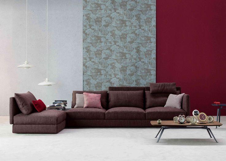 All-two Sofa / Tie coffee table Collection 2015  By Bonaldo www.bonaldo.it