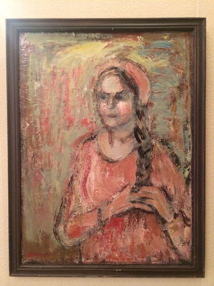 Karimullin Ravkat. Oil on canvas 90/80 cm. 2004.
