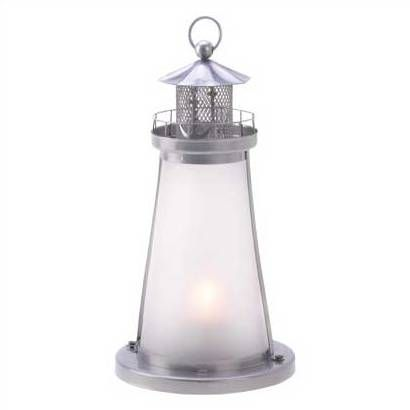 "$ 5.93 ea. Lookout Lighthouse Candle Lantern 5 "" x 5"" x 10 "" hi and their in Fontana !!!! 1 day shipping"
