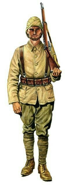 Turkish infantry, Gallipoli, pin by Paolo Marzioli