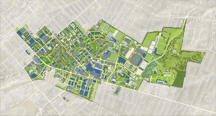 University of Kentucky Campus Master Plan Sasaki in 2020