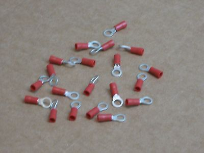 MA02579-1 Insulated Ring Terminal 22-18 American Wire Gauge #10 Stud 20 Pack