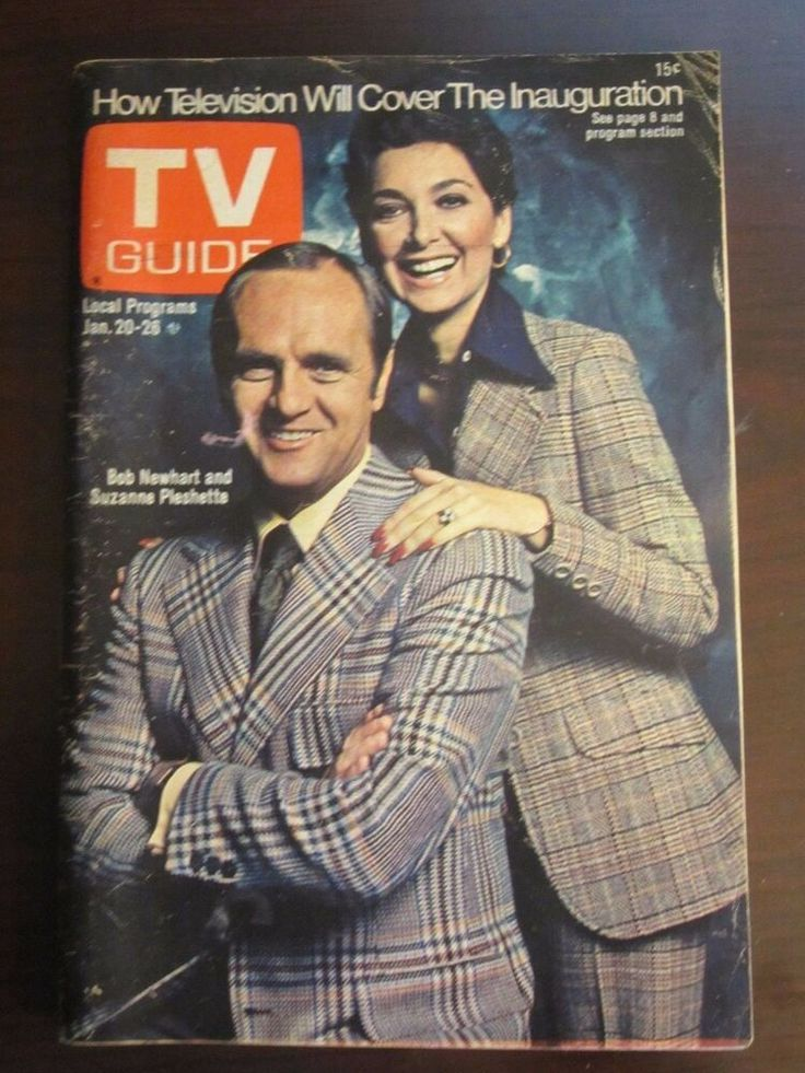 TV Guide January 1973 Bob Newhart Suzanne Pleshette