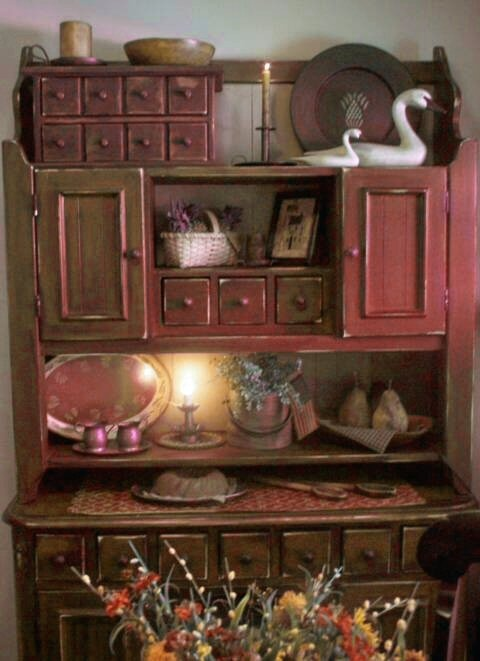 """""""primitive"""" cupboard"""