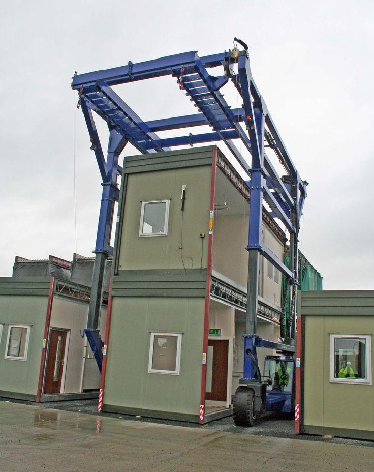 Combi-SC3 Telescopic handing Modular Buildings